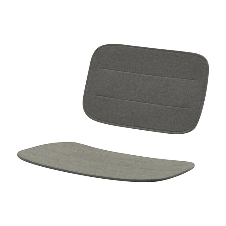 Seat cover for Lilium lounge chair, charcoal by Skagerak