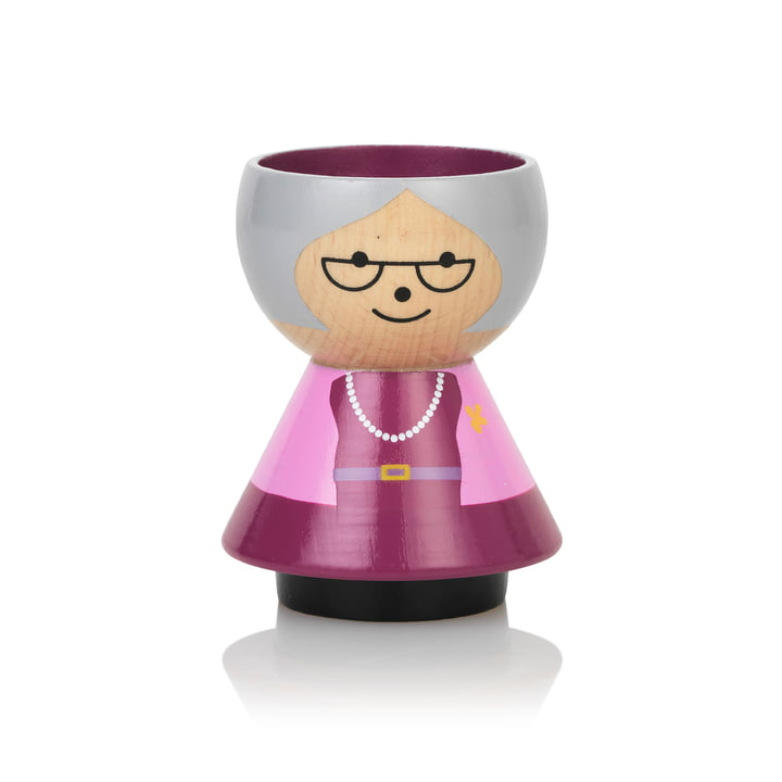 Bordfolk Eggcup grandma from Lucie Kaas