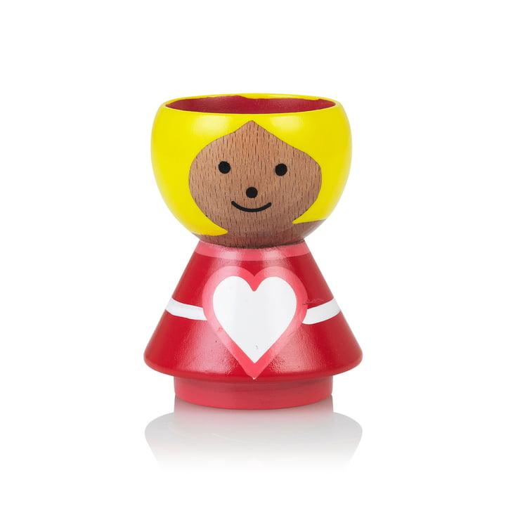 Bordfolk Egg cup girl heart of Lucie Kaas