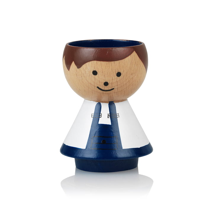 Bordfolk Egg cup boy do-it-yourselfers from Lucie Kaas