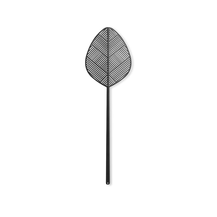 Leaflike Metal leaf Alva H 50,6 cm from Lucie Kaas in black