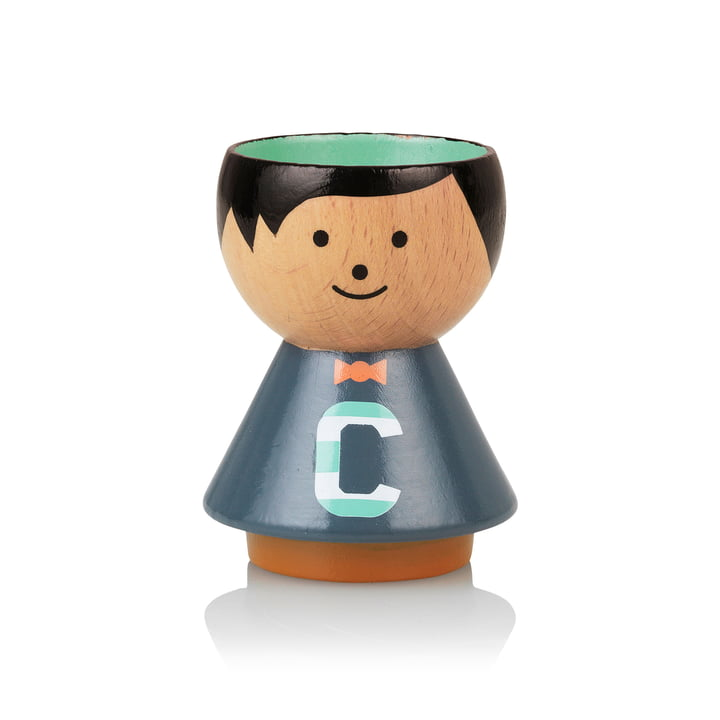Bordfolk eggcup boy C from Lucie Kaas