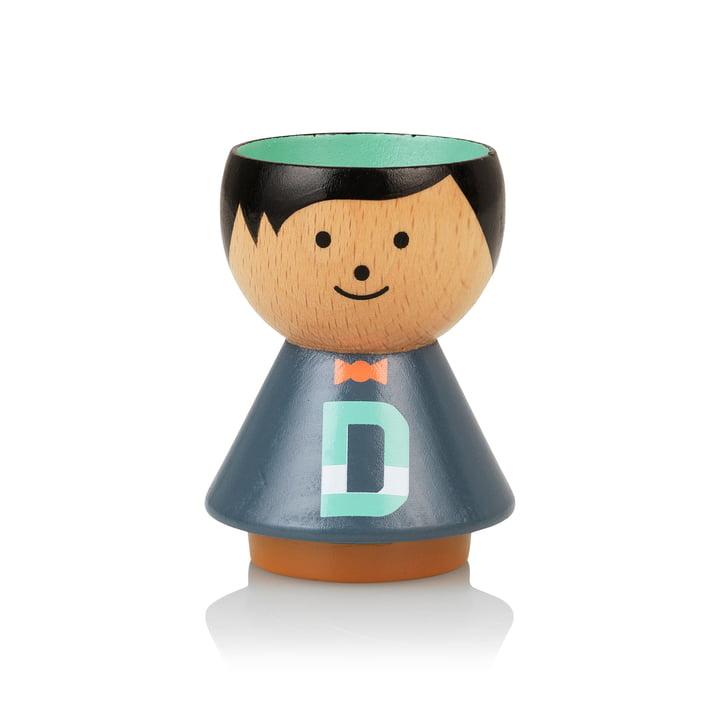 Bordfolk eggcup boy D from Lucie Kaas