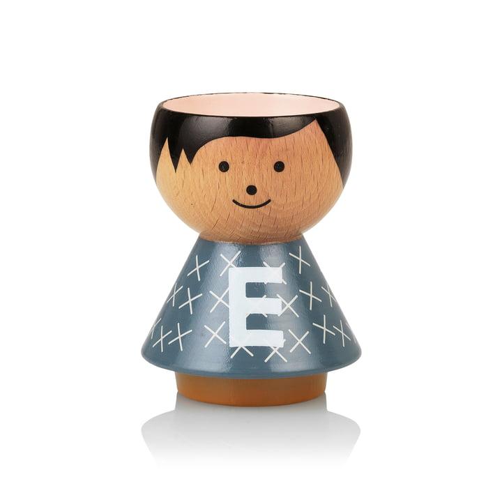 Bordfolk egg cup boy E by Lucie Kaas