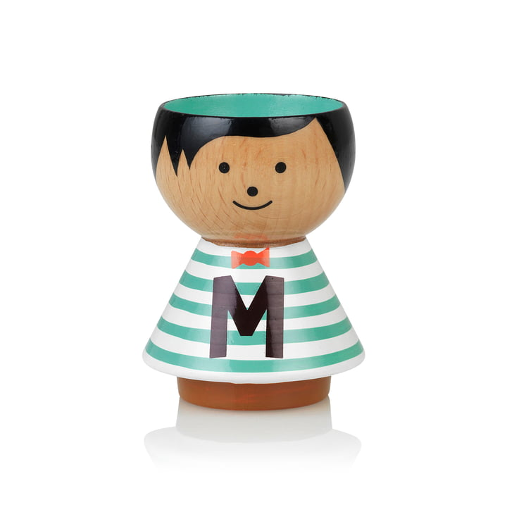 Bordfolk eggcup boy M from Lucie Kaas