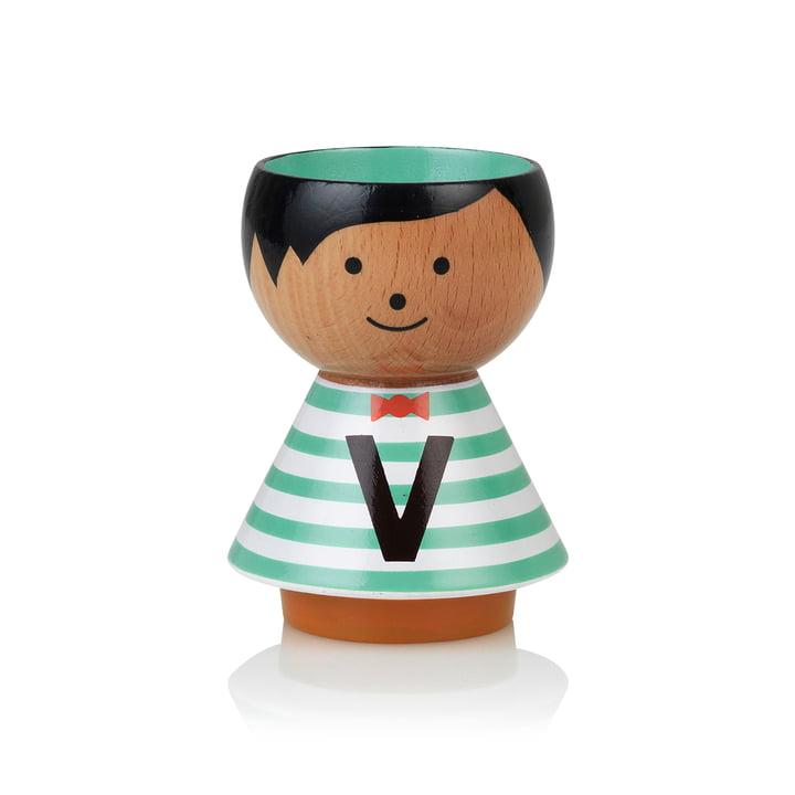 Bordfolk eggcup boy V from Lucie Kaas