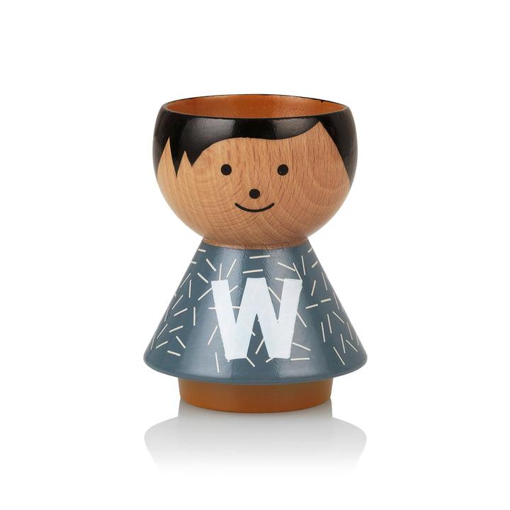 Bordfolk eggcup boy W from Lucie Kaas