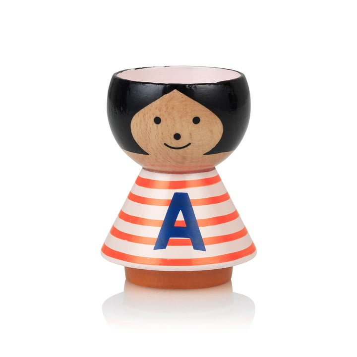 Bordfolk eggcup girl A from Lucie Kaas