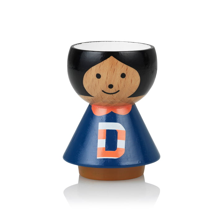 Bordfolk eggcup girl D from Lucie Kaas