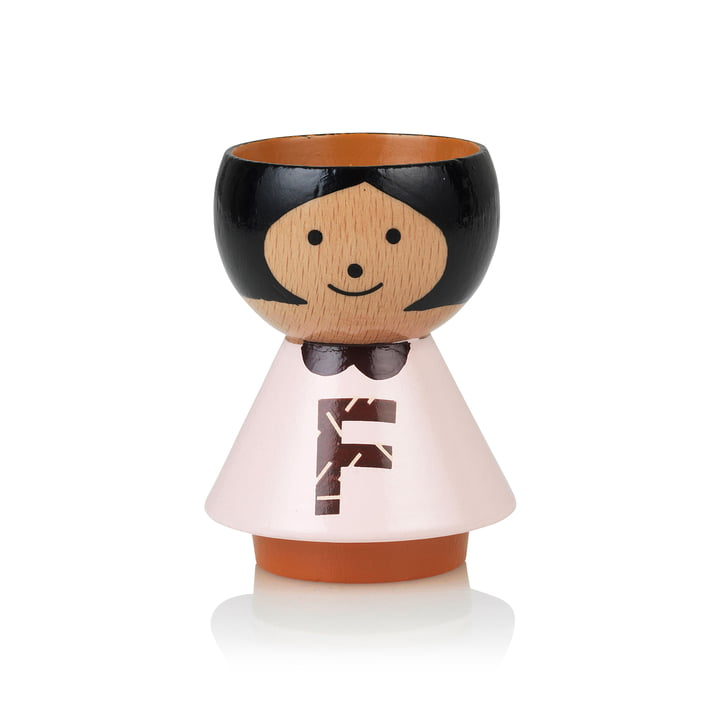 Bordfolk eggcup girl F from Lucie Kaas