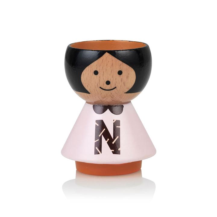 Bordfolk eggcup girl N from Lucie Kaas