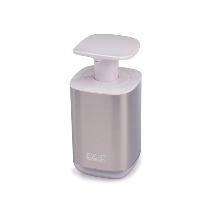 Presto Steel soap dispenser, white from Joseph Joseph