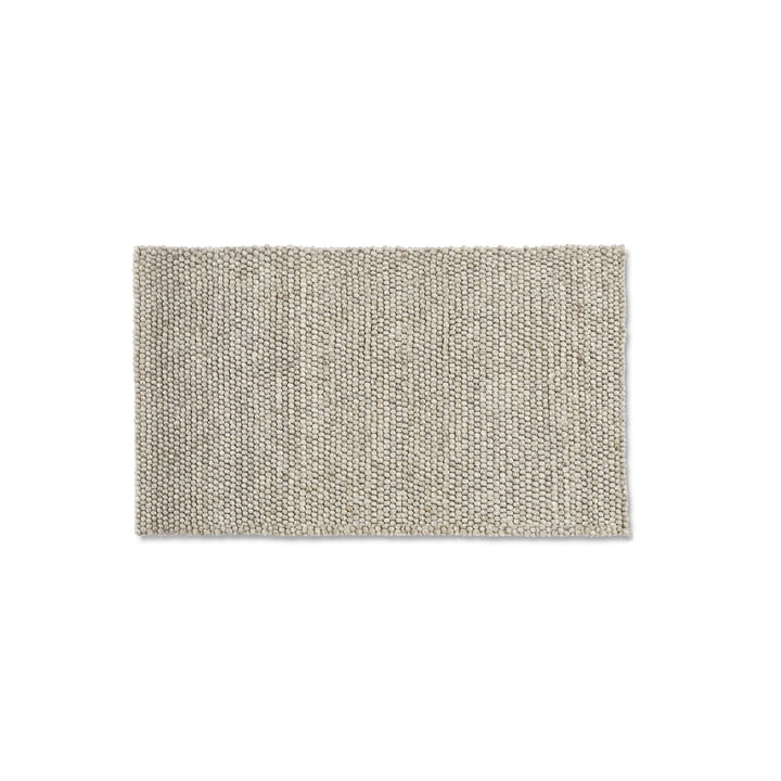 Peas carpet 80 x 140 cm from Hay in soft grey