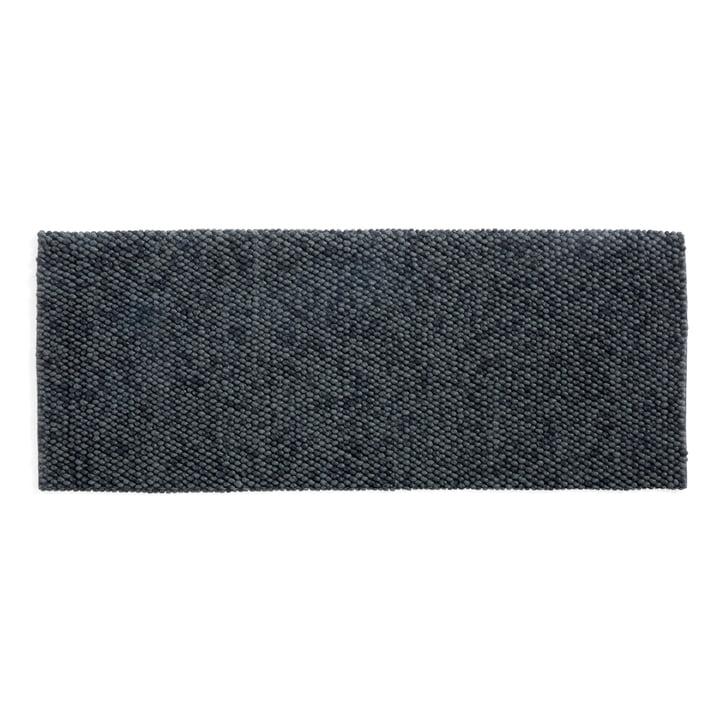 Peas Carpet 80 x 200 cm from Hay in dark grey