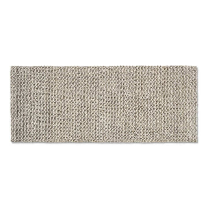 Peas carpet 80 x 200 cm from Hay in soft grey
