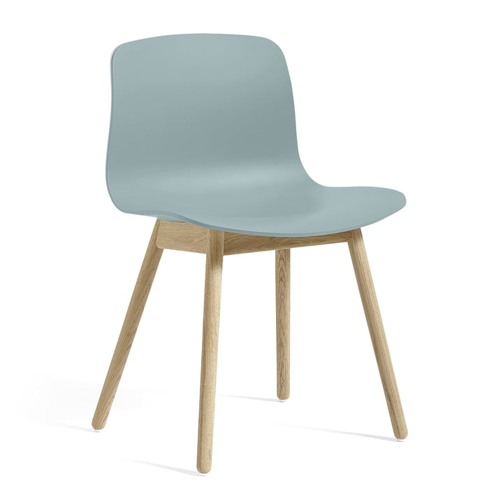 About A Chair AAC 12 from Hay in oak soap / dusty blue