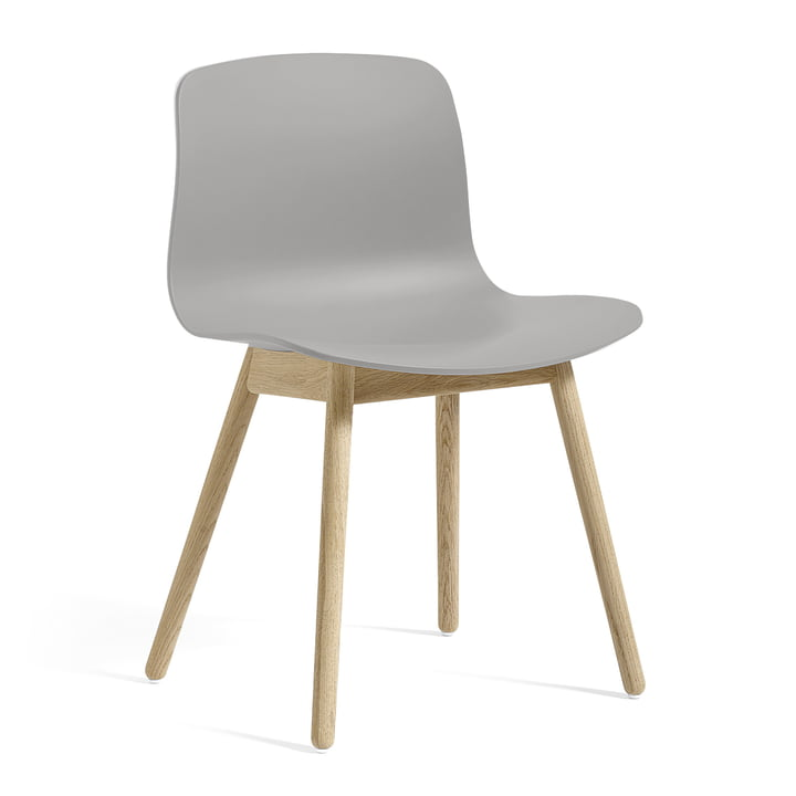 About A Chair AAC 12 from Hay in oak soap / concrete grey