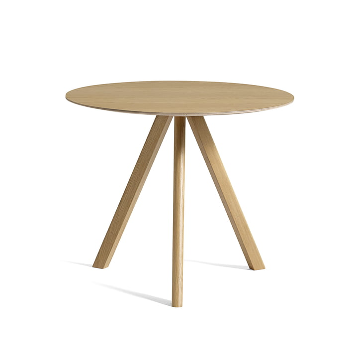 Copenhague CPH20 table Ø 90 cm by Hay in oak