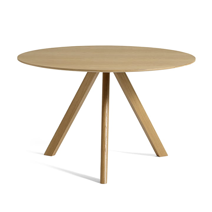 Copenhague CPH20 table Ø 120 cm by Hay in oak