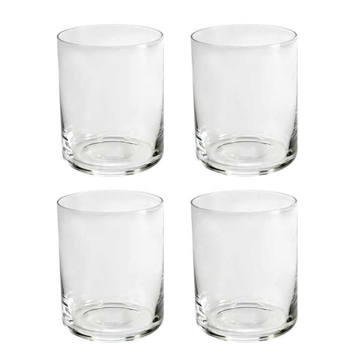 yunic Water glasses in set of 4