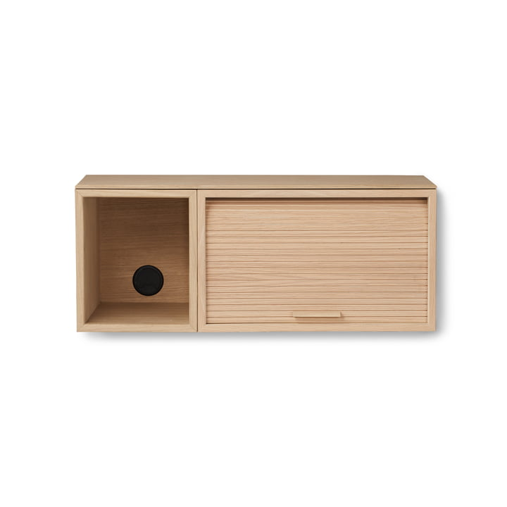 Hifive Slim 75 Wall cabinet from Northern in oak