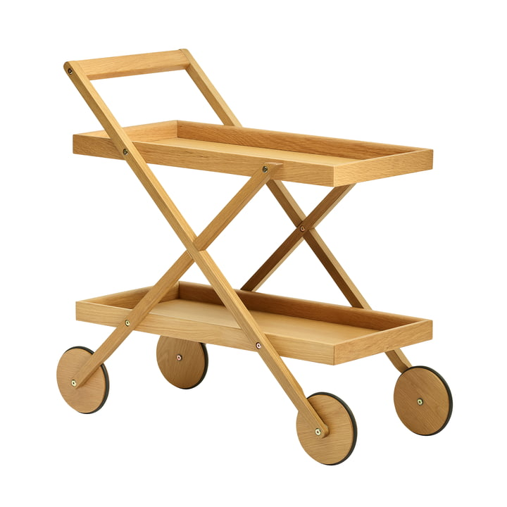 Exit Serving trolley, oak from Design House Stockholm