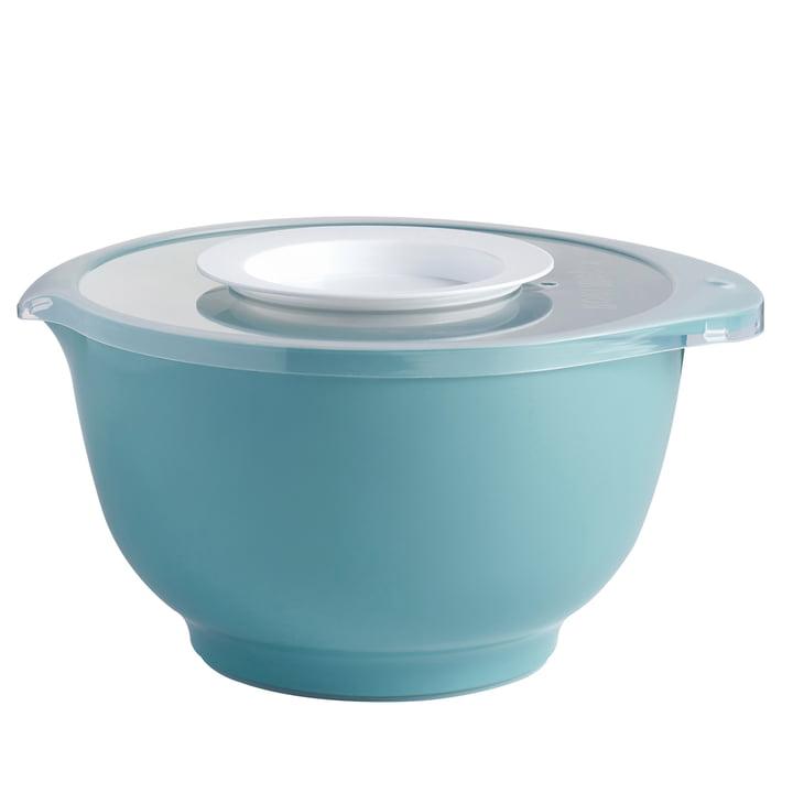 Rosti - Anniversary Margrethe set (mixing bowl + splash guard lid), nordic green