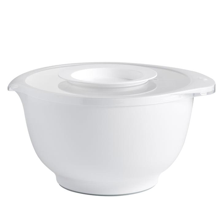 Rosti - Anniversary Margrethe set (mixing bowl + splash guard lid), white