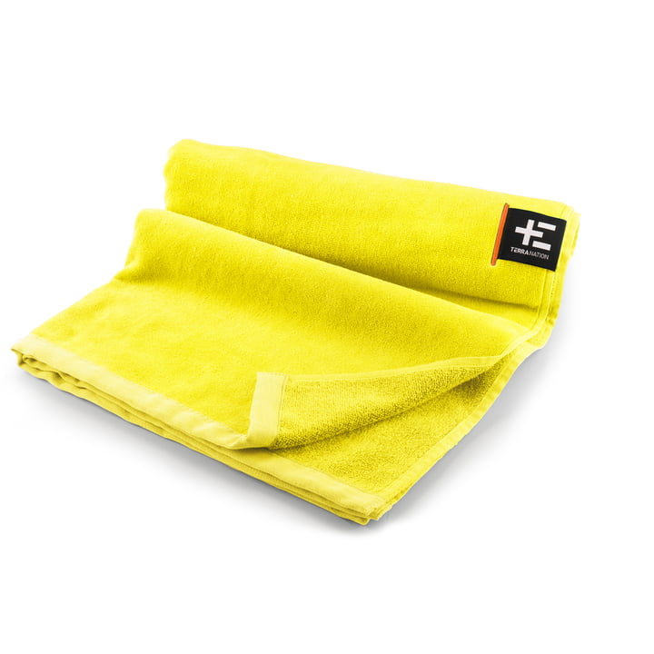 Kiva Moe beach towel 80 x 160 cm from Terra Nation in yellow