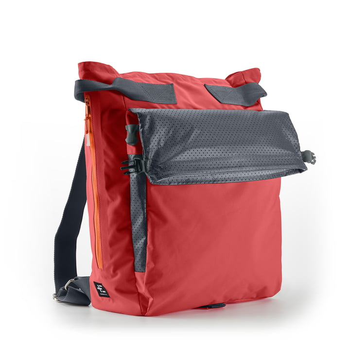 Haga Kopu beach backpack from Terra Nation in coral