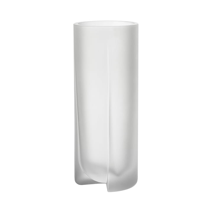 Kuru Vase 255 mm from Iittala in clear matt