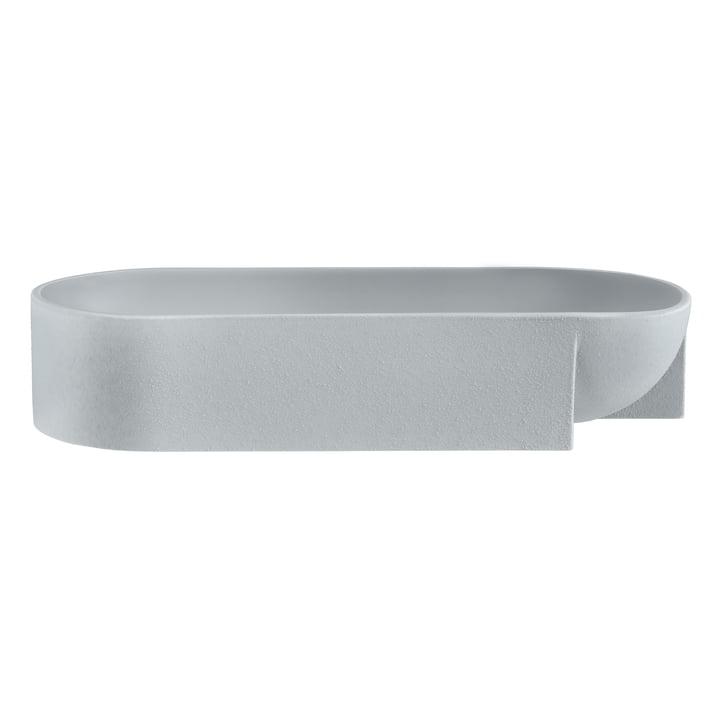 Kuru bowl 370 x 75 mm from Iittala in light grey