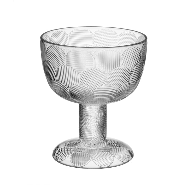 Miranda bowl on foot 145 mm from Iittala in clear