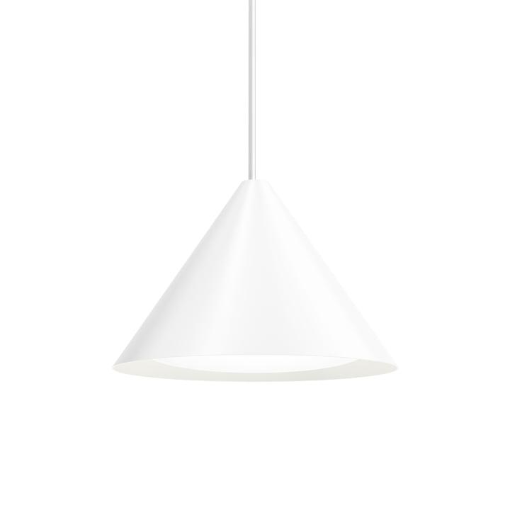 Keglen LED pendant light Ø 400 mm from Louis Poulsen in white