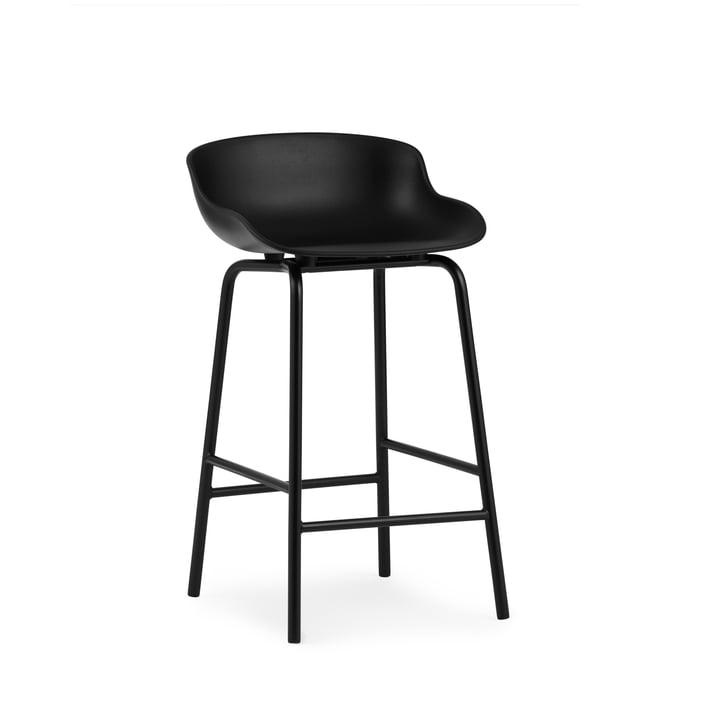 Hyg Bar stool H 65 cm from Normann Copenhagen in black