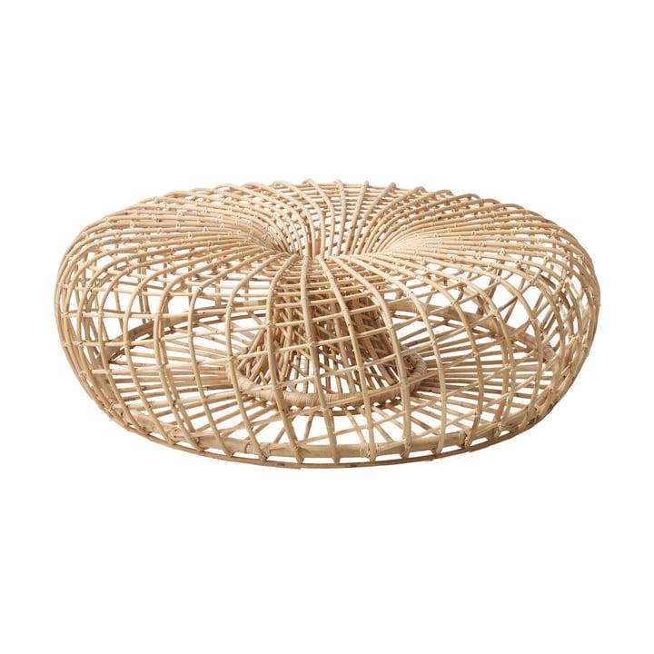 Nest Indoor stool Ø 130 cm, natural from Cane-line
