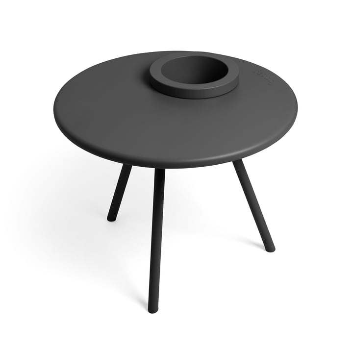 Bakkes side table from Fatboy in anthracite