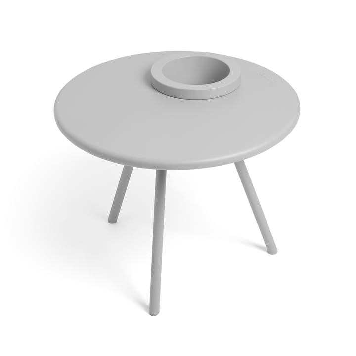 Bakkes side table from Fatboy in light grey