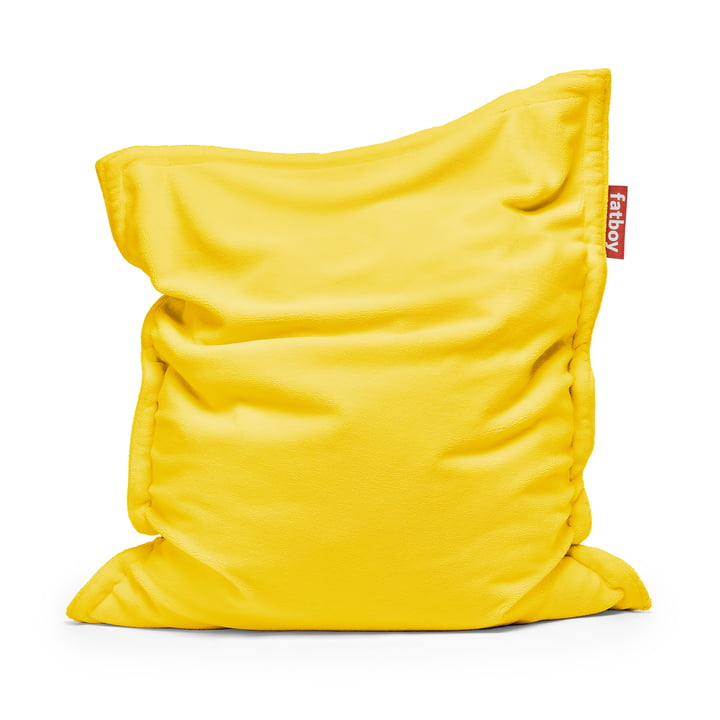 Beanbag Original Slim Teddy from Fatboy in lemon