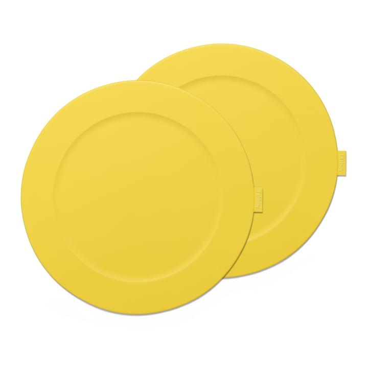 Place-we-met place mat Fatboy in the colour lemon