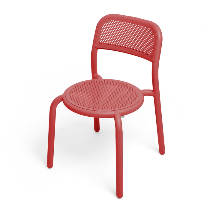 Toní chair from Fatboy in the colour industrial red