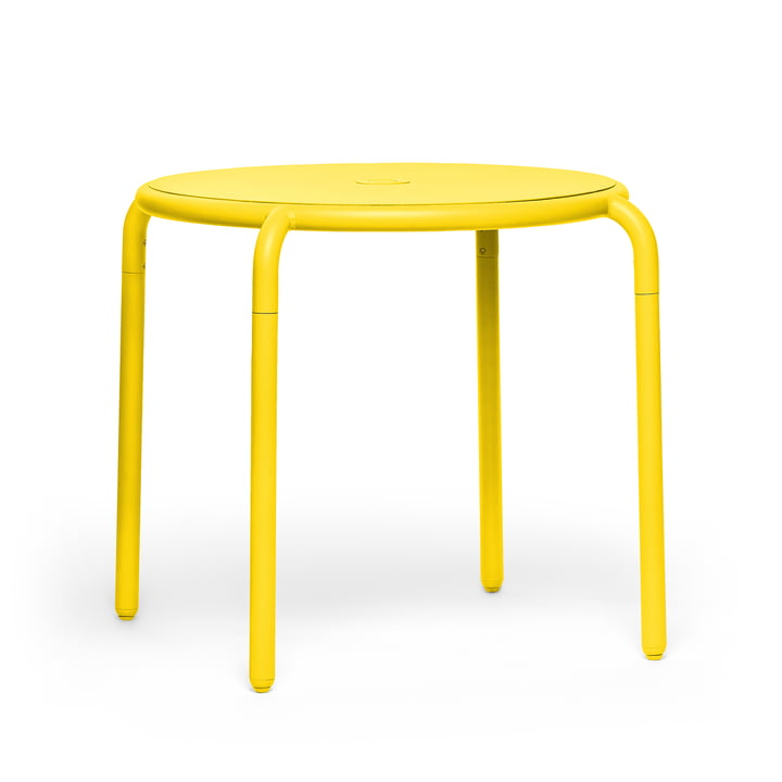 The Toní bistro table from Fatboy in the lemon version.