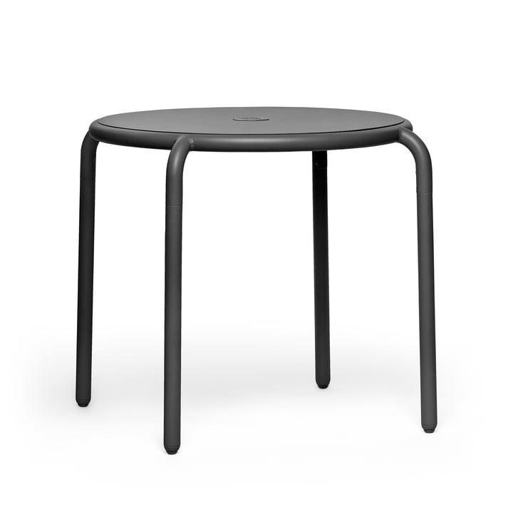The Toní bistro table from Fatboy in the anthracite version