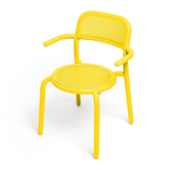 Toní Armchair from Fatboy in the colour lemon