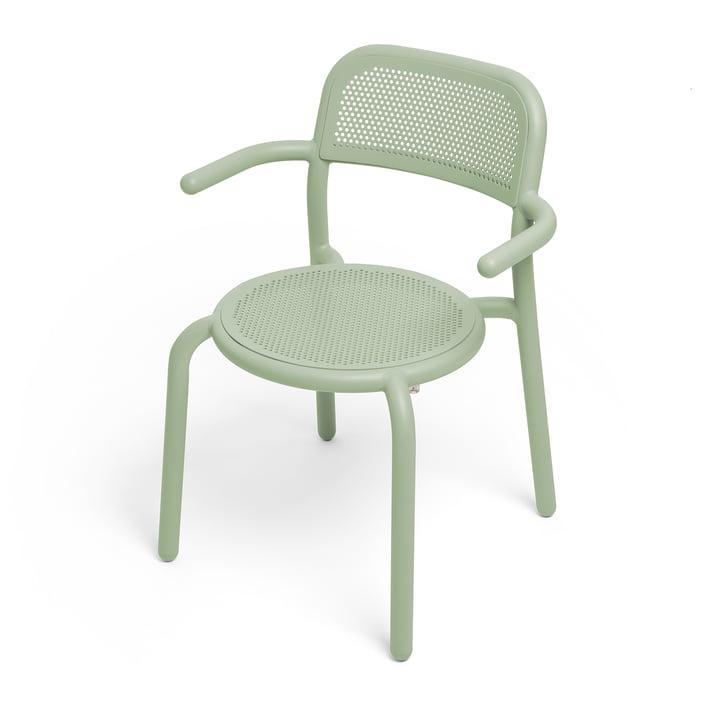 The Toní armchair from Fatboy in the colour mist green