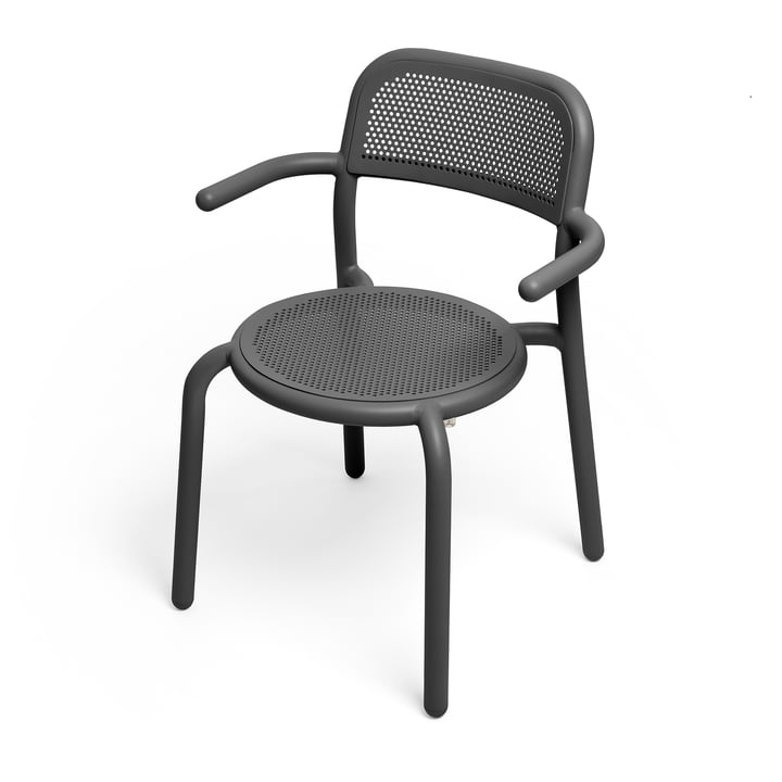The Toní armchair from Fatboy in the colour anthracite