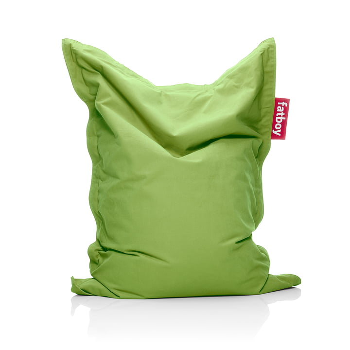 Junior beanbag Stonewashed from Fatboy in the colour lime green