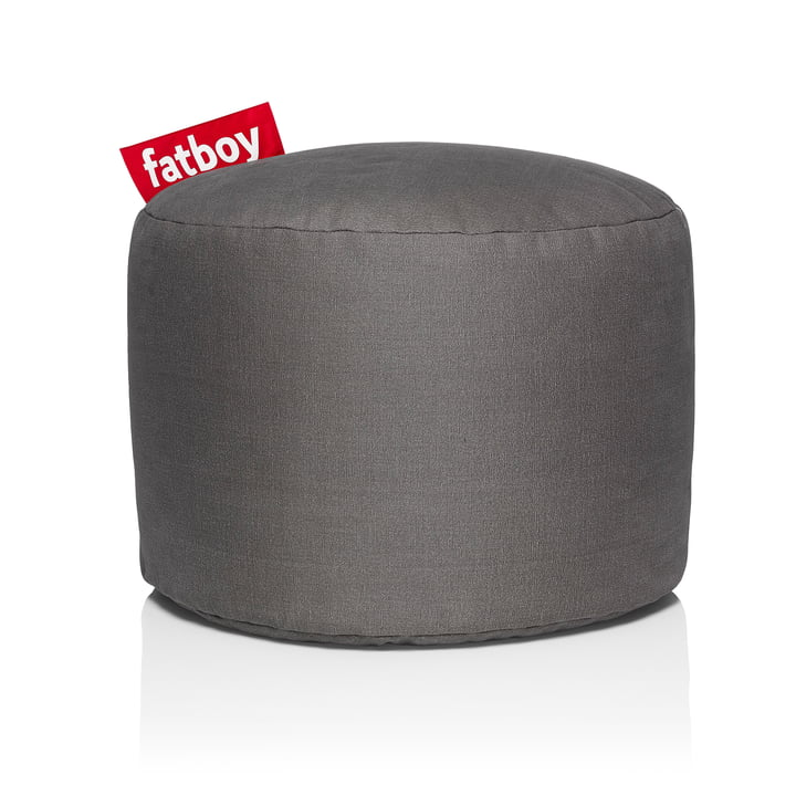Point Stonewashed stool from Fatboy in taupe