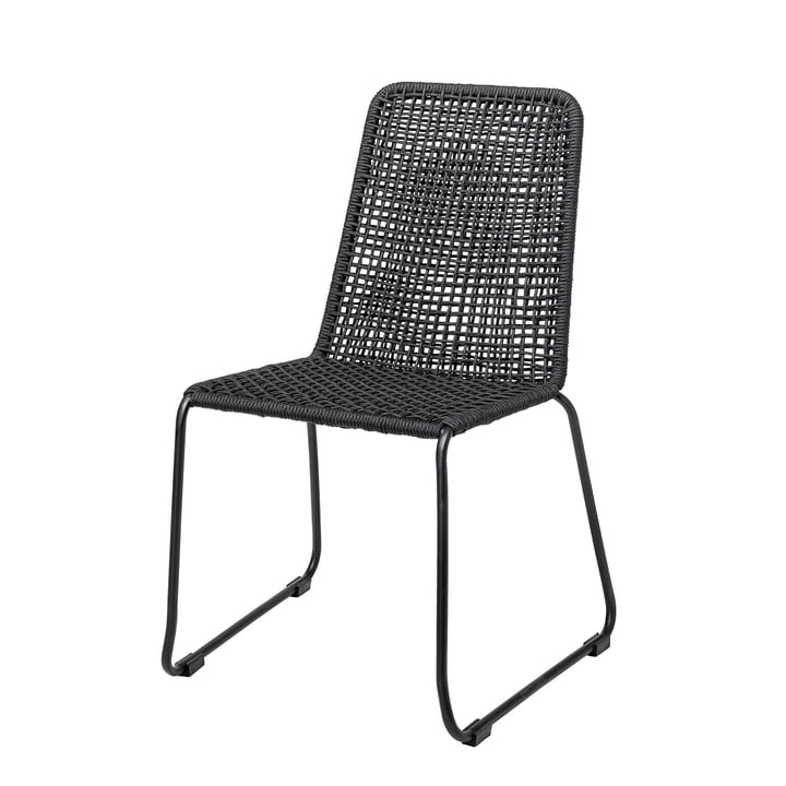 Mundo chair from Bloomingville in black