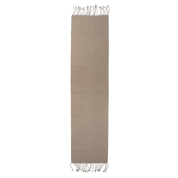 Natural fibre carpet 280 x 70 cm from Bloomingville in jute